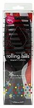 Parfumuri și produse cosmetice Perie pentru uscare rapidă a părului, neagră - Rolling Hills Hairbrushes Quick Dry Brush Black
