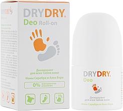 Parfumuri și produse cosmetice Deodorant cu ioni de argint și aloe vera pentru corp - Lexima Ab DryDry Deo Roll-on