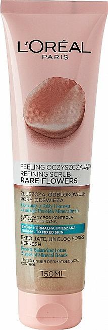 Scrub pentru față - L'Oreal Paris Skin Expert Rare Flowers Refining Scrub