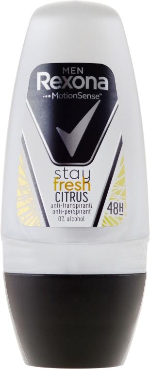 Deodorant Roll-On - Rexona Men Motionsense Stay Fresh Citrus 48h Anti-perspirant — Imagine N1