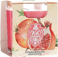 """Parfumuri și produse cosmetice Lumânare aromatică """"Rodie"""" - La Florentina Pomegranate Candle"""