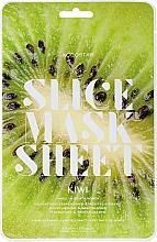 Parfumuri și produse cosmetice Mască de față - Kocostar Slice Mask Sheet Kiwi