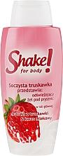 """Parfumuri și produse cosmetice Gel de duș """"Căpșună"""" - Shake for Body Shower Gel Strawberry"""
