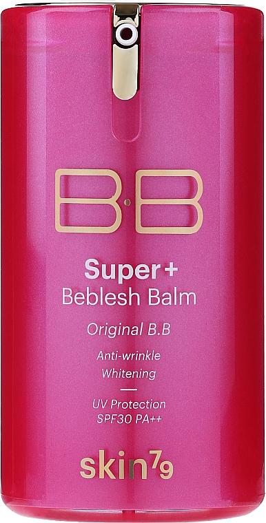BB Cremă multifuncțională - Skin79 Super Plus Beblesh Balm Triple Functions Pink BB Cream