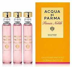 Parfumuri și produse cosmetice Acqua Di Parma Peonia Nobile - Apă de parfum (edp/20mlx3)