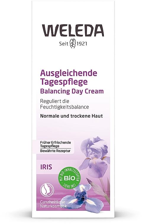 Cremă de zi cu extract de iris pentru ten uscat - Weleda Iris Tagescreme — Imagine N3