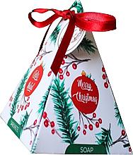 """Parfumuri și produse cosmetice Săpun """"Vișină"""" în cutie cadou - Essencias de Portugal Holly"""