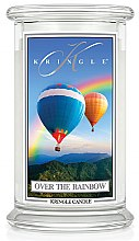 Parfumuri și produse cosmetice Lumânare aromată (borcan) - Kringle Candle Over the Rainbow