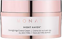 Parfumuri și produse cosmetice Cremă anti-îmbătrânire de noapte - Monat Night Haven Overnight Age Control Cream