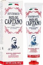 """Parfumuri și produse cosmetice Pastă de dinți """"Original"""" - Pasta Del Capitano Original Recipe Toothpaste"""