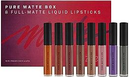 Parfumuri și produse cosmetice Set rujuri mate pentru buze - Zoeva Pure Matte Box (lipstick/8x6ml) (8 x 6 ml)