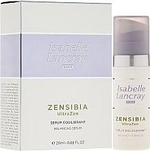 Parfumuri și produse cosmetice Ser facial - Isabelle Lancray Zensibia Ultrazen Serum Equilibrant