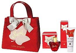 Parfumuri și produse cosmetice Lolita Lempicka Sweet - Set (edp/50 + b/lot/75ml + bag)