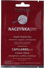 Parfumuri și produse cosmetice Cremă-mască pentru față - FlosLek Dilated Capillaries Cream Mask ( mostră )