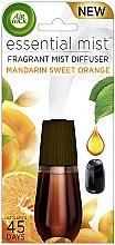 Parfumuri și produse cosmetice Difuzor Aromatic, rezervă - Air Wick Essential Mist Mandarin & Sweet Orange