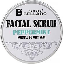 Parfumuri și produse cosmetice Scrub facial cu extract de mentă - Fergio Bellaro Exfoliante Facial