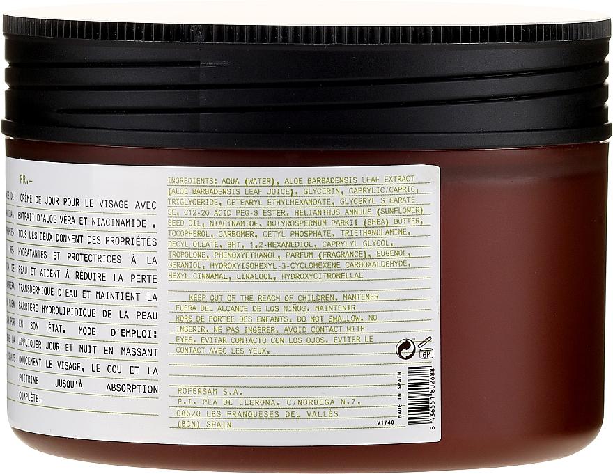 Cremă hidratantă cu aloe pentru față - Beaute Mediterranea Aloe Moisturizing Day And Night Cream — Imagine N3