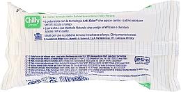 Șervețele pentru igiena intimă - Chilly Gel Fresh Intimate Wipes — Imagine N2