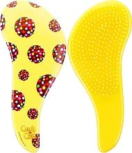 Parfumuri și produse cosmetice Perie de păr - KayPro Dtangler The Mini Brush Yellow