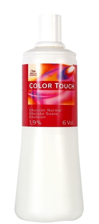 Emulsie pentru vosea de păr Color Touch - Wella Professionals Color Touch Emulsion Normal 1.9% — Imagine N1