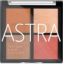 Parfumuri și produse cosmetice Paletă de machiaj - Astra Make-up The Romance Palette
