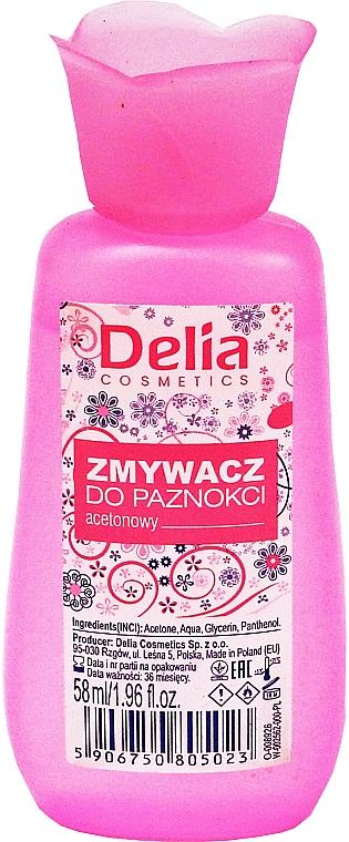 Dizolvant pentru lac de unghii - Delia No1 Nail Polish Remover