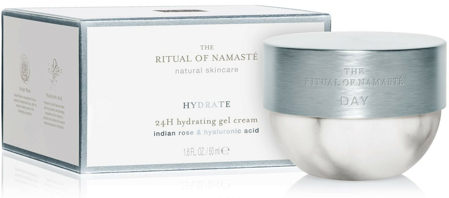 Cremă de zi pentru față - Rituals The Ritual Of Namaste 24H Hydrating Gel Cream