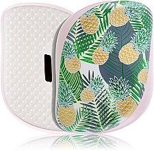 Parfumuri și produse cosmetice Perie de păr - Tangle Teezer Compact Styler Brush Palms & Pineapples