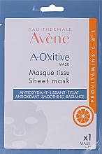 Mască din țesătură pentru față - Avene A-Oxitive Mask — Imagine N1