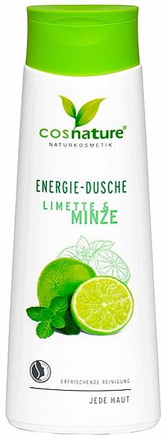 """Gel de duș """"Lime și mentă"""" - Cosnature Shower Gel Energy Mint & Lime — Imagine N1"""