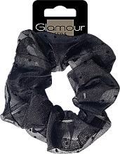 Parfumuri și produse cosmetice Elastic de păr, 417678, negru - Glamour
