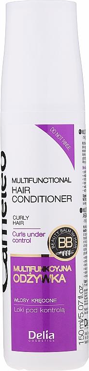 """Keratină lichidă """"Buclele sub control"""" - Delia Cameleo Liquid Keratin Curly Hair"""