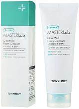Parfumuri și produse cosmetice Spumă de curățare pentru față - Tony Moly Derma Master Lab Cica Mild Foam Cleanser