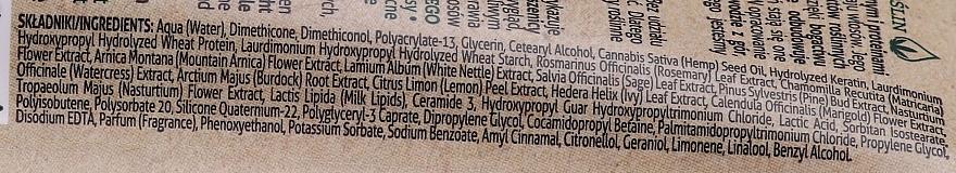 Ser cu efect de netezire pentru păr - Farmona Herbal Care Smoothing Hair Serum with Hemp Oil and Protein — Imagine N4