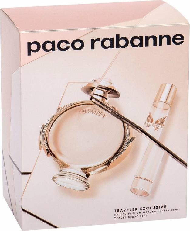 Paco Rabanne Olympea - Set (edp/80ml + edp/20ml)
