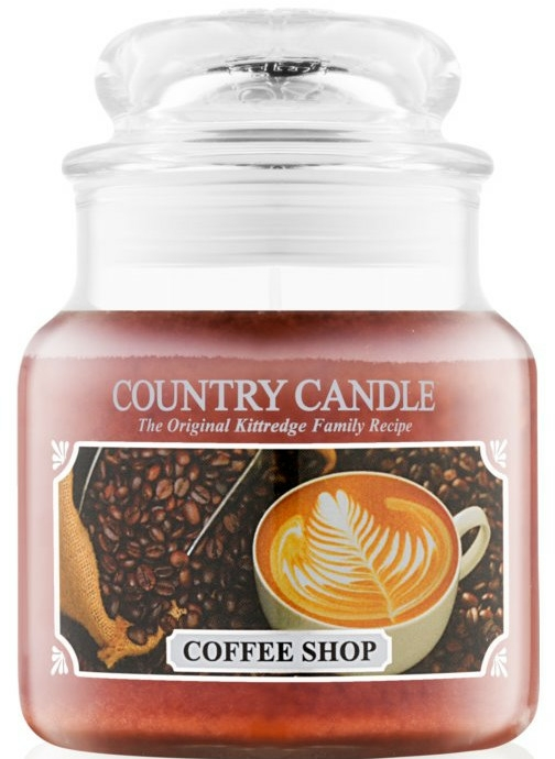 Lumânare aromată (borcan) - Country Candle Coffee Shop — Imagine N2