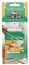 Parfumuri și produse cosmetice Aromatizator auto - Yankee Candle Car Jar Alfresco Afternoon
