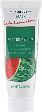 """Parfumuri și produse cosmetice Mască regenerantă """"Pepene verde"""" pentru față - Korres Watermelon Revitalising Mask"""