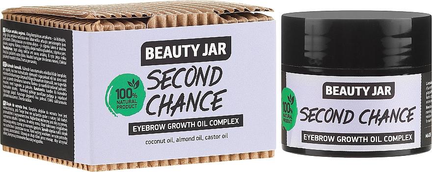 Complexul de ulei pentru sprâncene - Beauty Jar Second Chance Eyebrow Growth Oil Complex