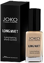 Parfumuri și produse cosmetice Fond de ten - Joko Long Matt