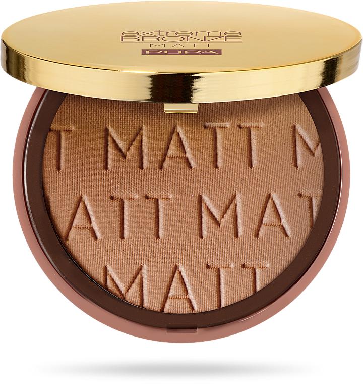 Pudră-bronzer de față - Pupa Extreme Bronze Matt