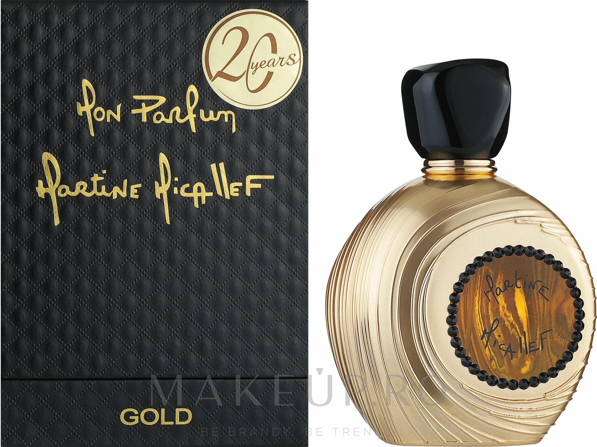 M. Micallef Mon Parfum Gold - Apă de parfum  — Imagine 100 ml