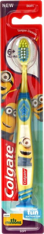 Periuță de dinți 6+, moale - Colgate Kids Soft Toothbrush — Imagine N1