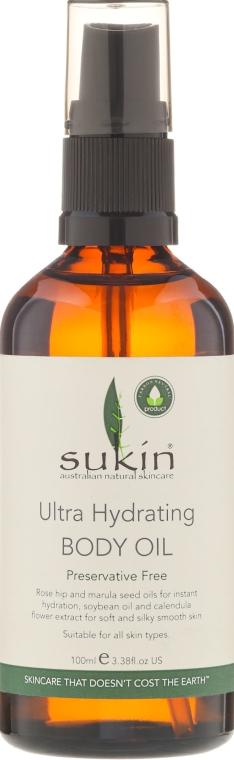 Ulei hidratant pentru corp - Sukin Ultra Hydrating Body Oil — Imagine N2