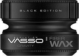 Parfumuri și produse cosmetice Ceară pentru păr - Vasso Professional Hair Styling Wax Gravity Black Edition