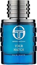 Parfumuri și produse cosmetice Sergio Tacchini Your Match - Apă de toaletă