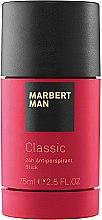 Parfumuri și produse cosmetice Marbert Man Classic - Deodorant-stick