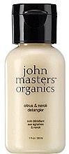 """Parfumuri și produse cosmetice Balsam de păr """"Citrus și Neroli"""" - John Masters Organics Citrus & Neroli Detangle (mini)"""