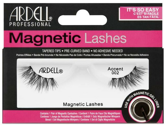 Gene false - Ardell Magnetic Lashes Accent 002 — Imagine N1
