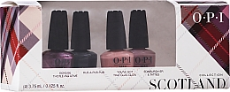 Parfumuri și produse cosmetice Set - OPI Scotland Nail Lacquer Set